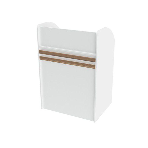 Balcão caixa 100% MDF 80x120x60 cm Comac