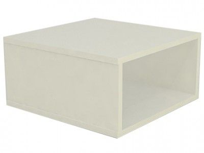 Base Comac fixa para vitrine modelo simples tamanho 40 x 20 x 40 cm