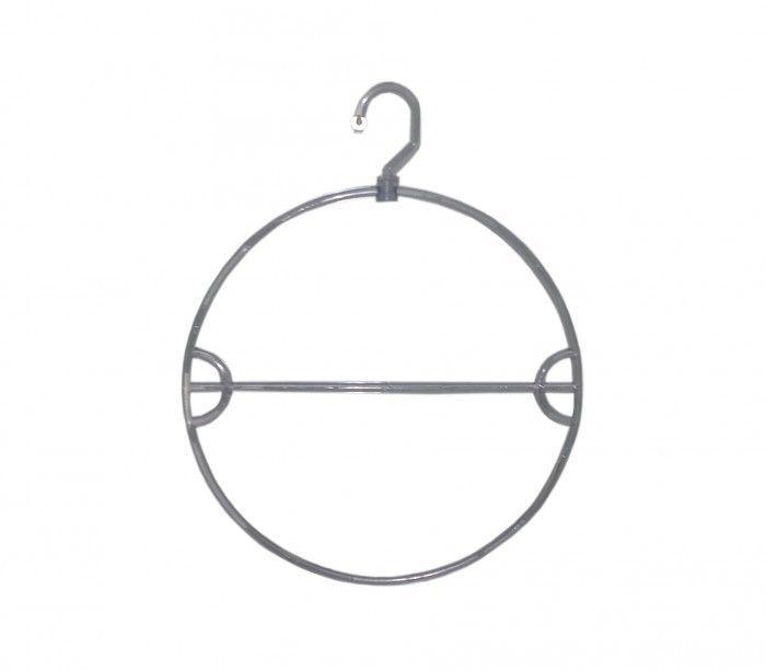 Cabide Comac modelo adulto giratório biquini em acrílico transparente