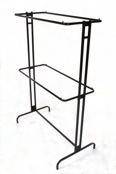 Expositor Comac modelo duplo sobreposto de centro