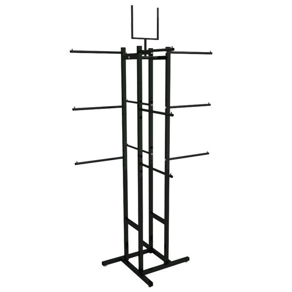 Expositor Comac modelo simétrico com 12 braços