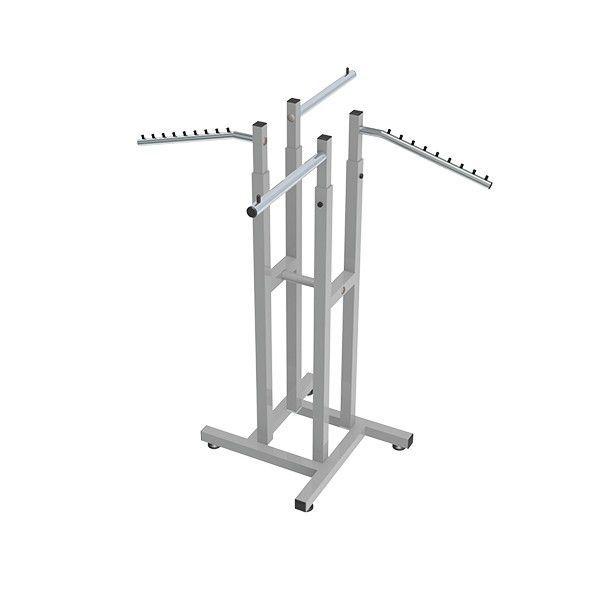 Expositor Comac modelo simétrico com 4 braços misto