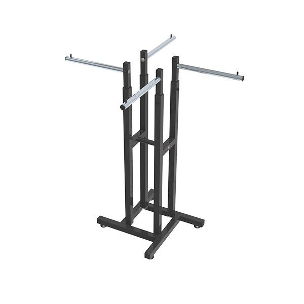 Expositor Comac modelo simétrico com 4 braços reto