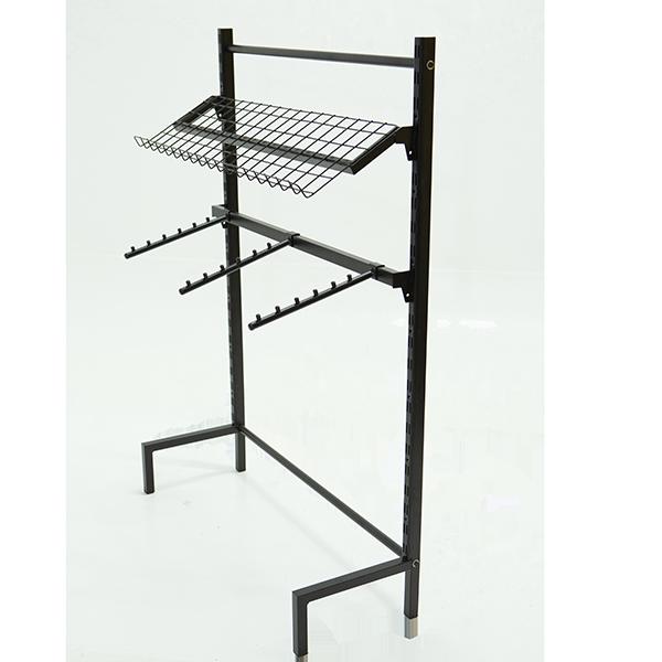 Expositor de parede para cremalheira 93x130x32 cm Comac