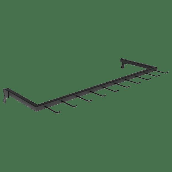 Expositor para Cintos 90 x 29 cm de Cremalheira Comac