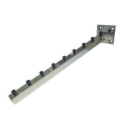 Pendurador Comac modelo fixo quadrado inclinado em alumínio