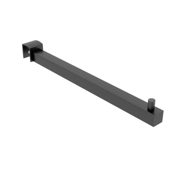 Pendurador RT reto quadrado para travessa de cremalheira 30 cm Comac