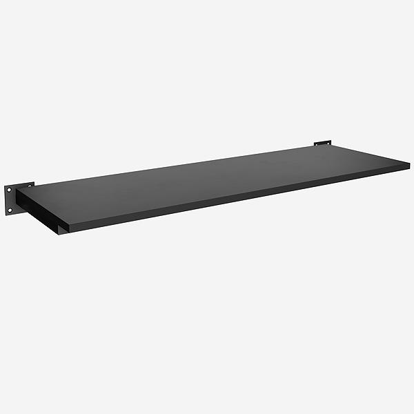 Prateleira quadrada leve simples 90x30 cm Comac