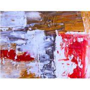 Abstrato Branco Vermelho Laranja