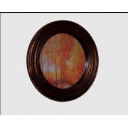 Espelho Parede Pintura Ouro Envelhecido
