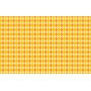 Papel de Parede Abstrato Laranja e Amarelo