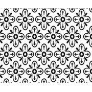 Papel de Parede Flores em Formas