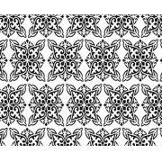 Papel de Parede Formas Abstratas em Branco e Preto