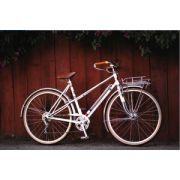 Tela Canvas Bicicleta Branca
