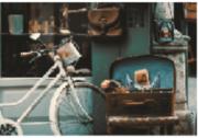 Tela Canvas Bicicleta Mala