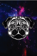 Tela Canvas Mistic Pug