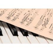 Tela Canvas Partitura Piano