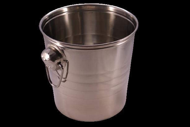 Balde gelo inox 4 litros + brinde porta rolha Keep Calm
