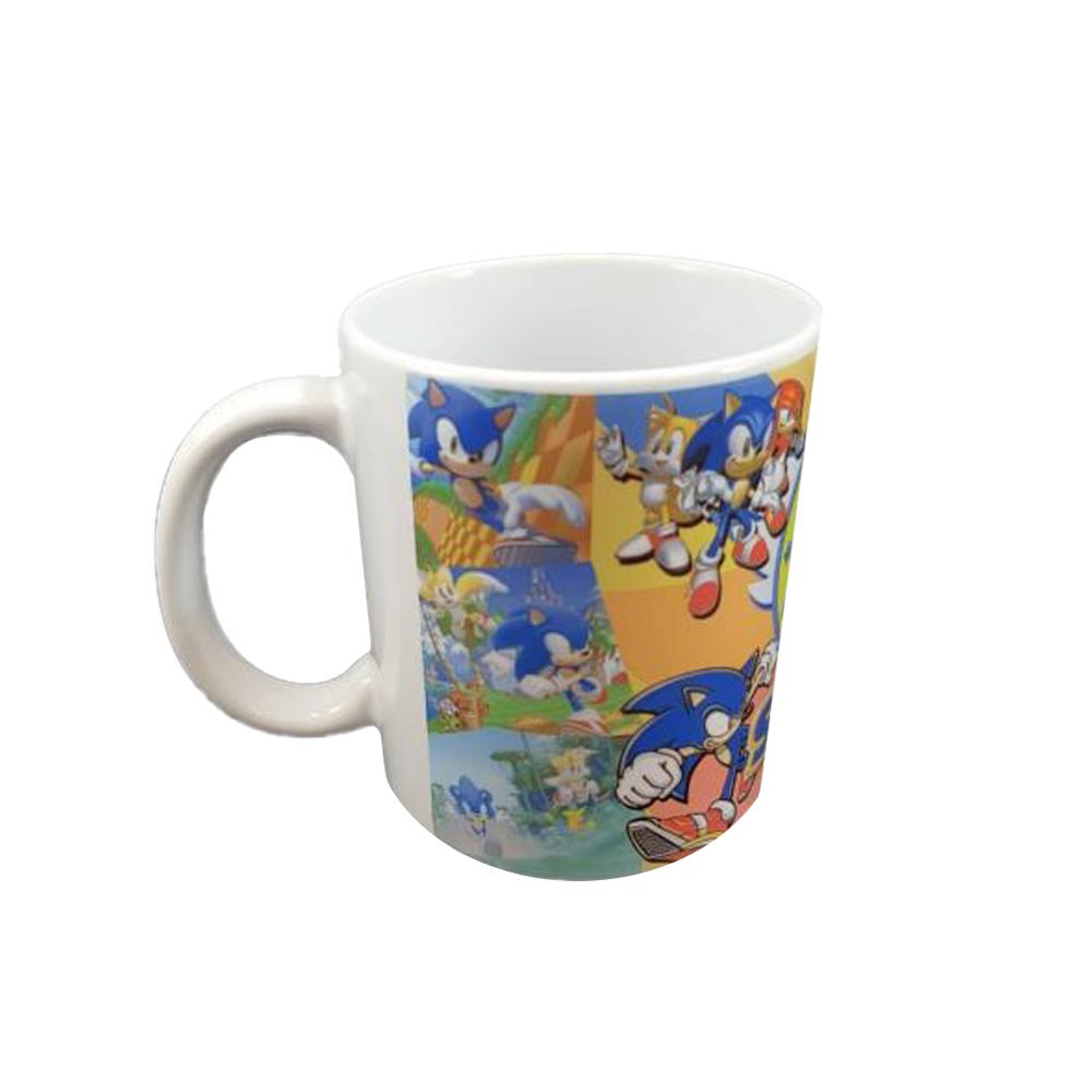 Caneca De Cerâmica Sonic 3