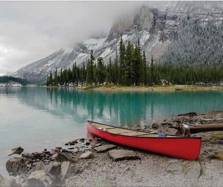 Canoa vermelha