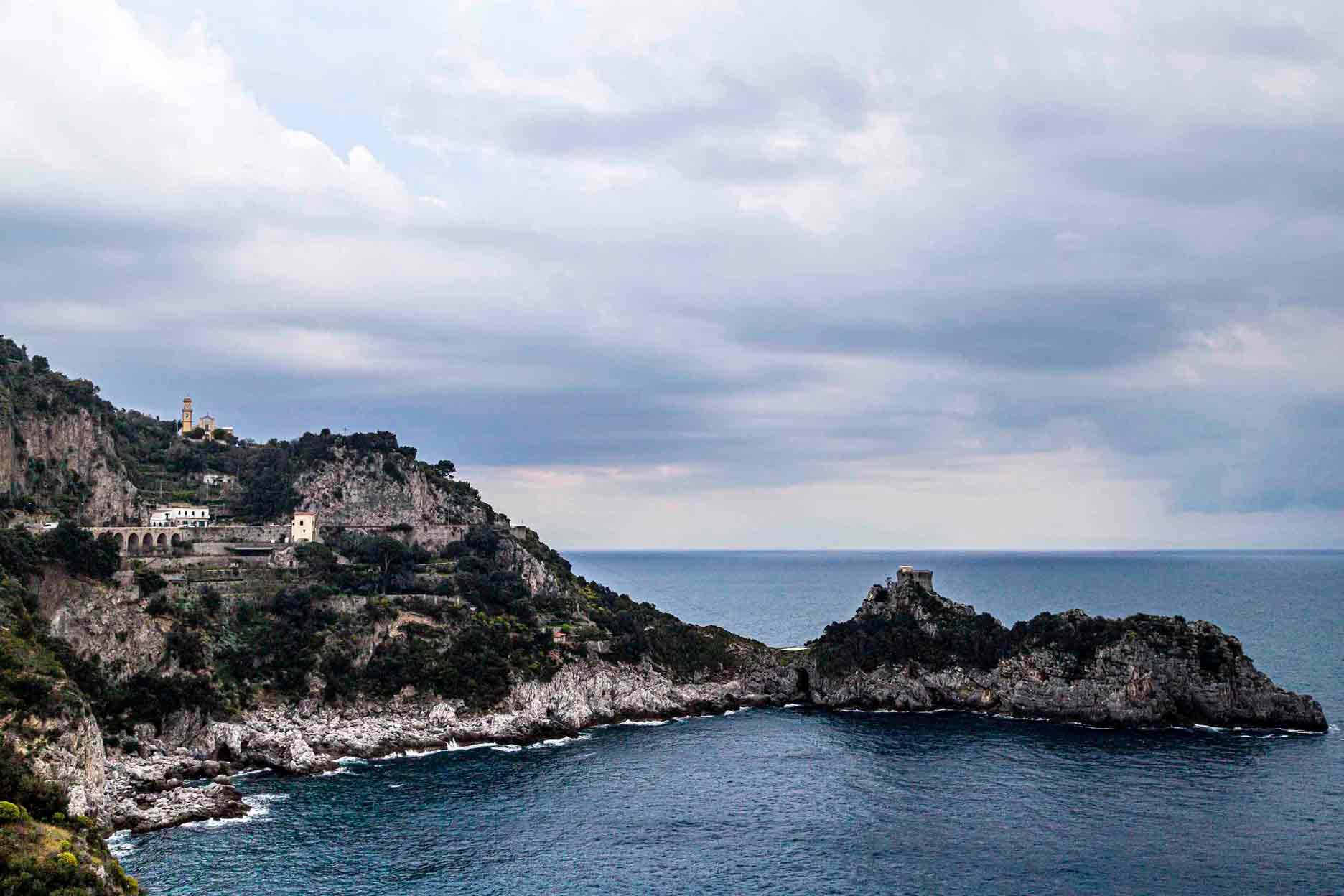 Tela Em Costa Amalfitana