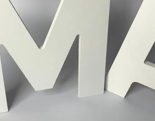 Letra Pvc Caixa Fachada 1 M Altura Espessura 10mm 1 Unidade