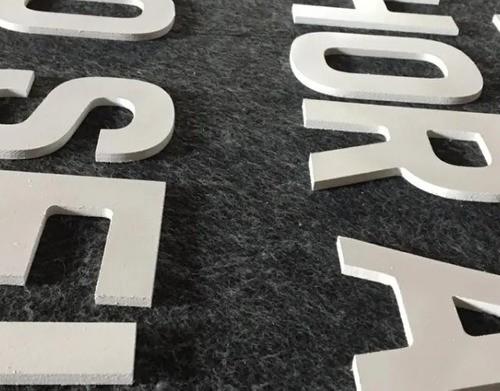 Letra Pvc Caixa Fachada 50cm Altura Espessura 10mm 1 Unidade