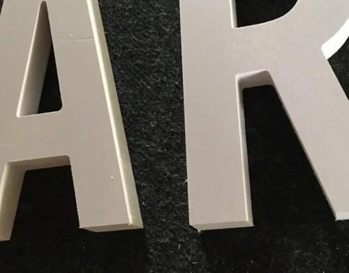 Letra Pvc Caixa Fachada 50cm Altura Espessura 20mm 1 Unidade