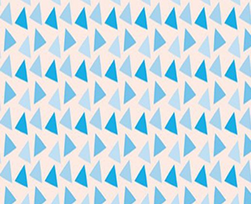 Papel de Parede Blues Triangle