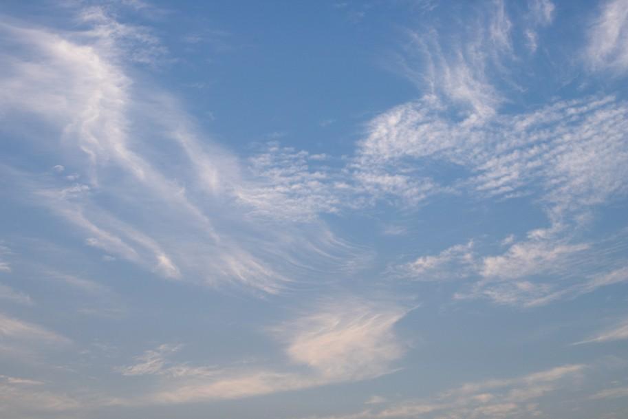 Quadríptico Nuvens Dispersas