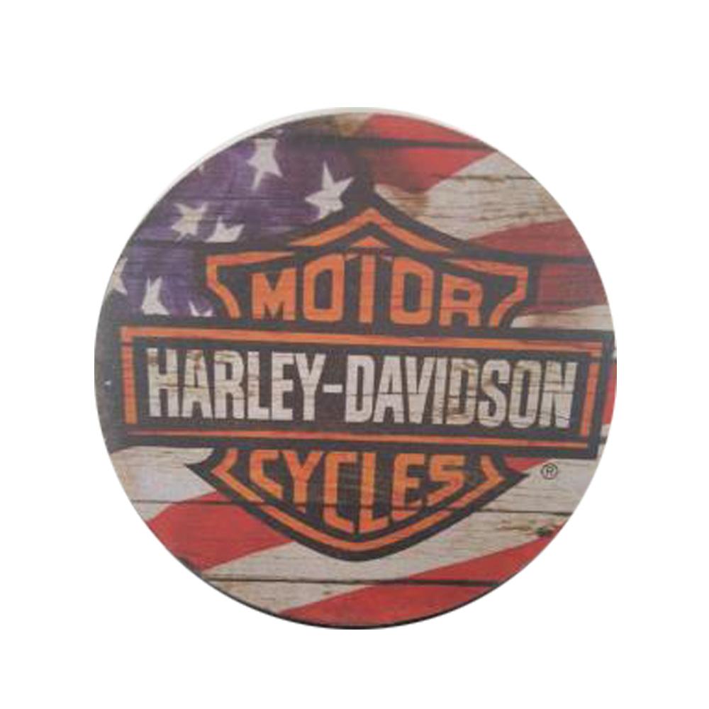 Quadro Recorativo Dek Board Vintage Harley Davidson