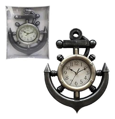 Relógio de Parede Âncora Envelhecido