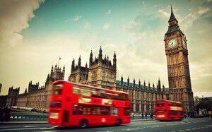 Tela Canvas Ônibus Londres