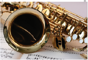 Tela Canvas Saxofone
