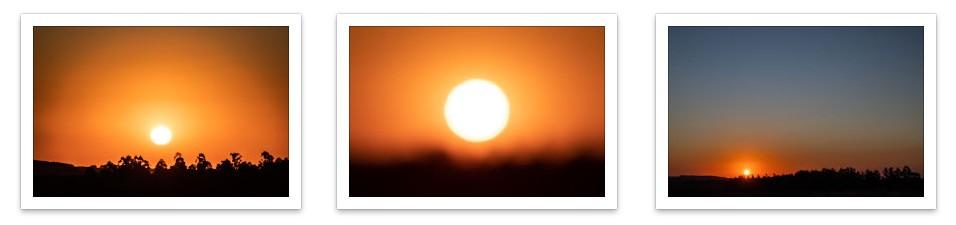 Tríptico Pôr do Sol 02