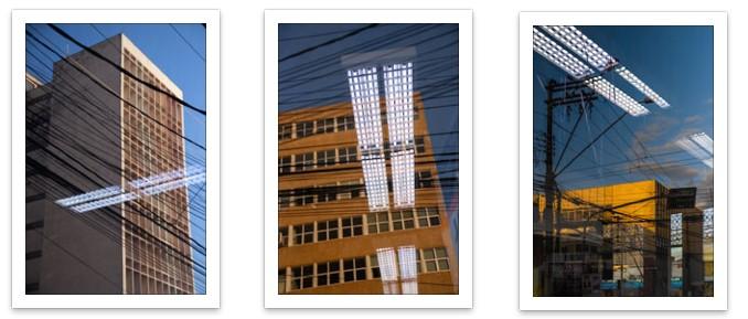 Tríptico Reflexos Urbanos
