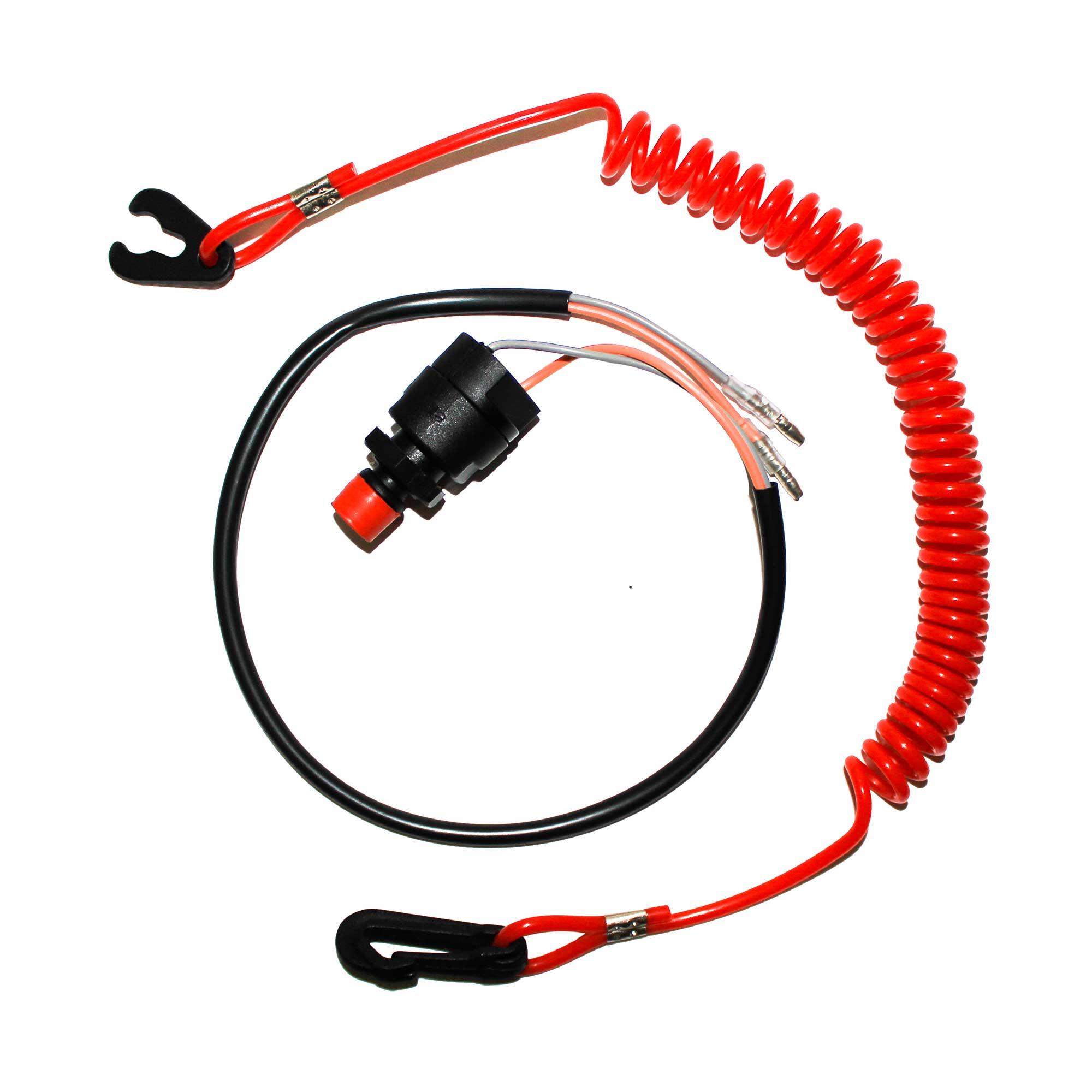 Botão Emg e Desl Motor / Cordão Corta Circuito