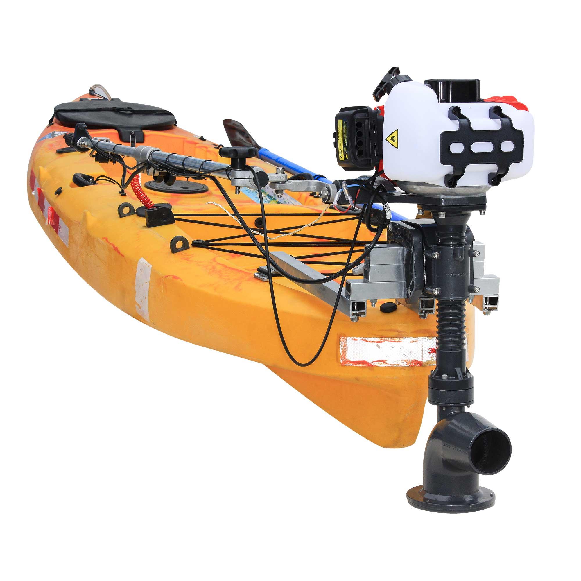 Kit Jet Turbo Cut Pantaneiro + acelerador remoto + Suporte traseiro Barracuda