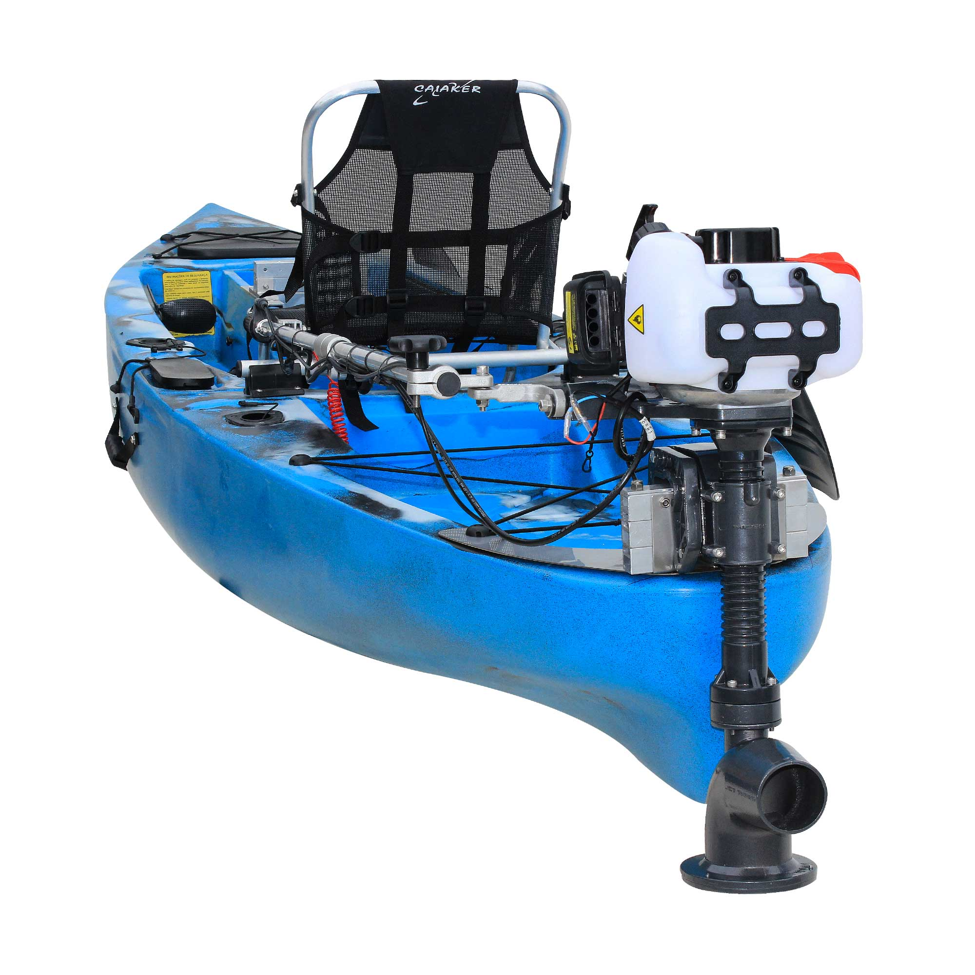 Kit Jet Turbo Cut Pantaneiro + acelerador remoto + Suporte traseiro Marlim