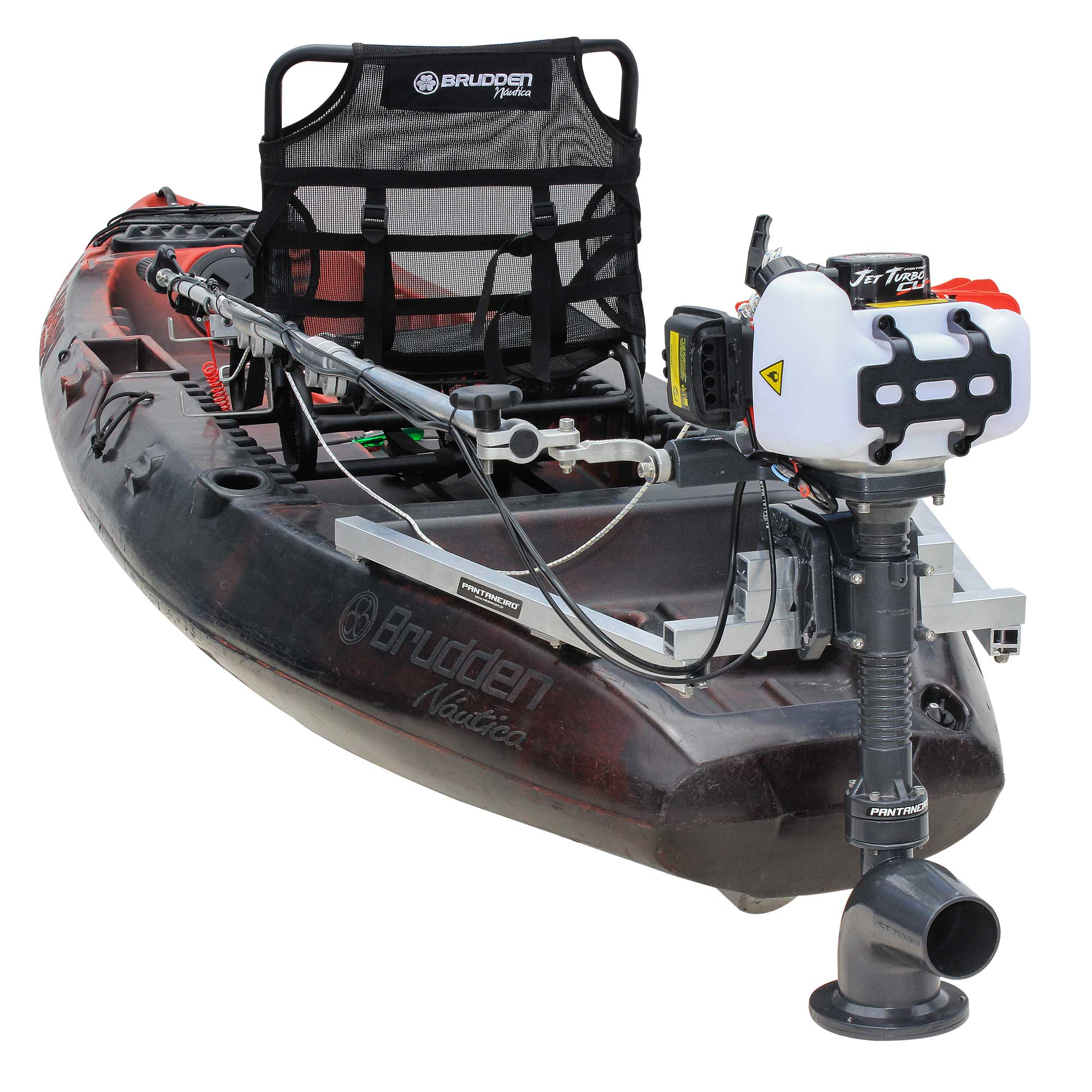 Kit Jet Turbo Cut Pantaneiro + acelerador remoto + Suporte traseiro Safari