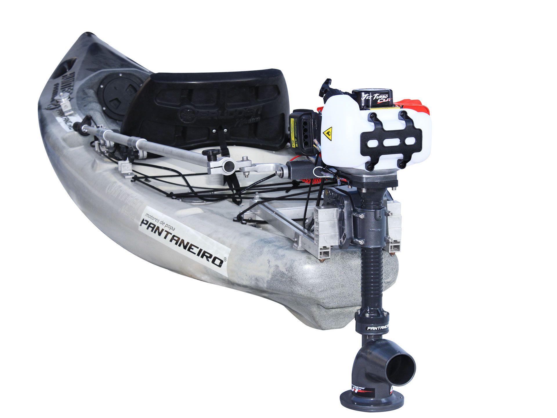 Kit Jet Turbo Cut Pantaneiro + acelerador remoto + Suporte traseiro Universal