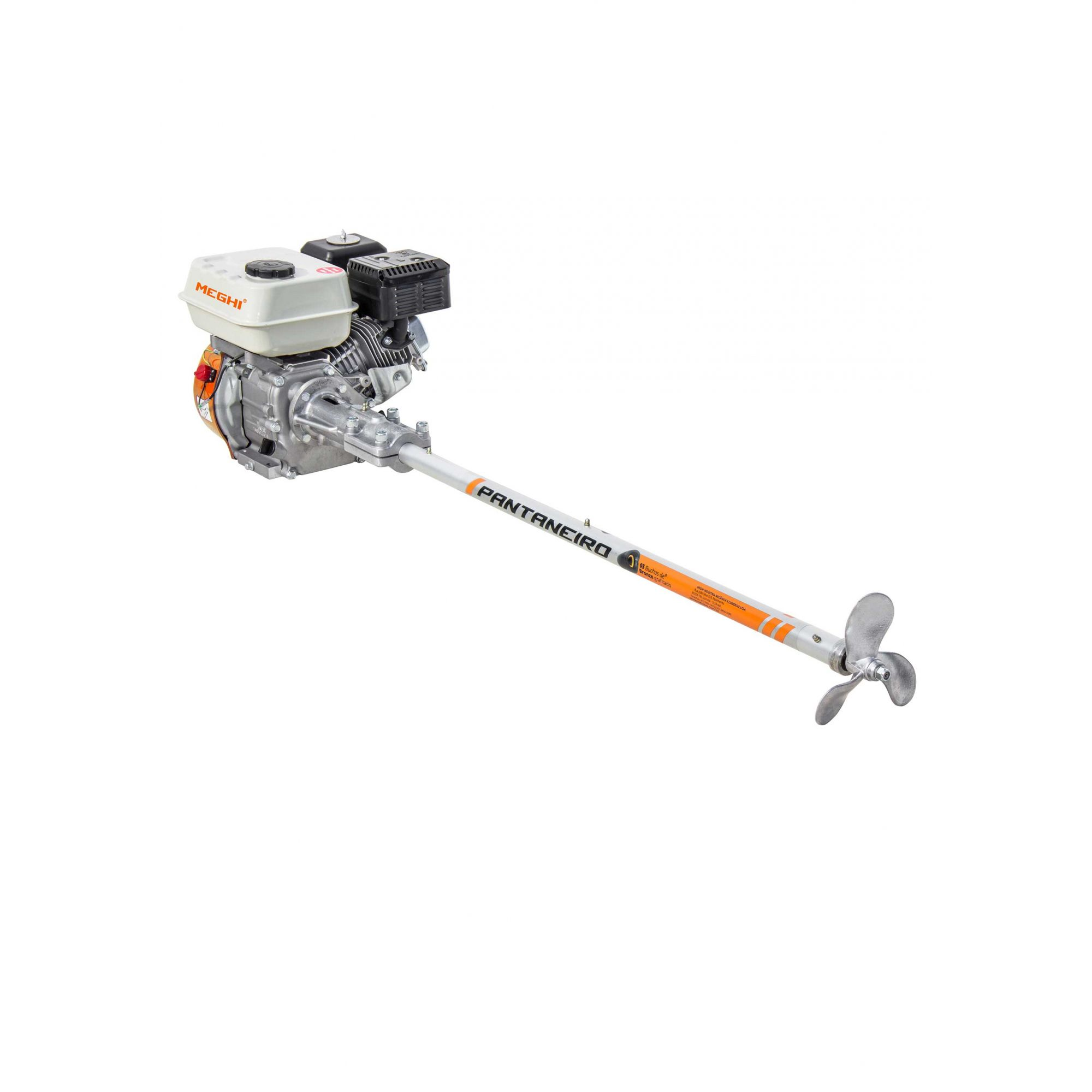 Kit Motor De Centro Barco Bote 1,20mt P/ Motor 10 Die/13 Gas