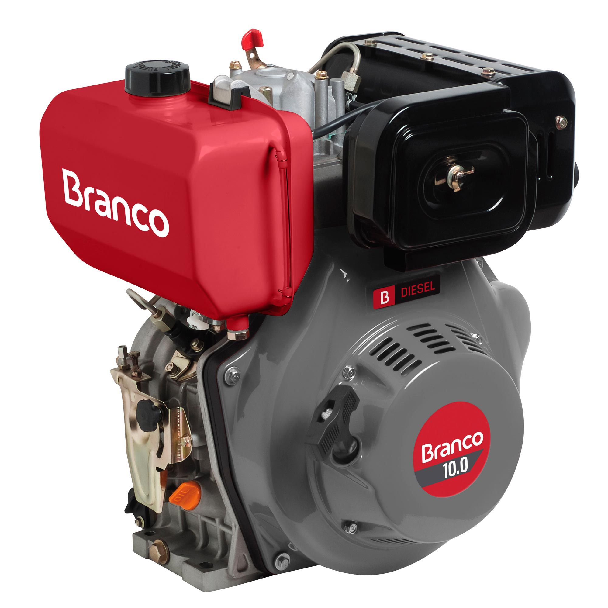 Motor Branco 10 hp - G2 (Manual)