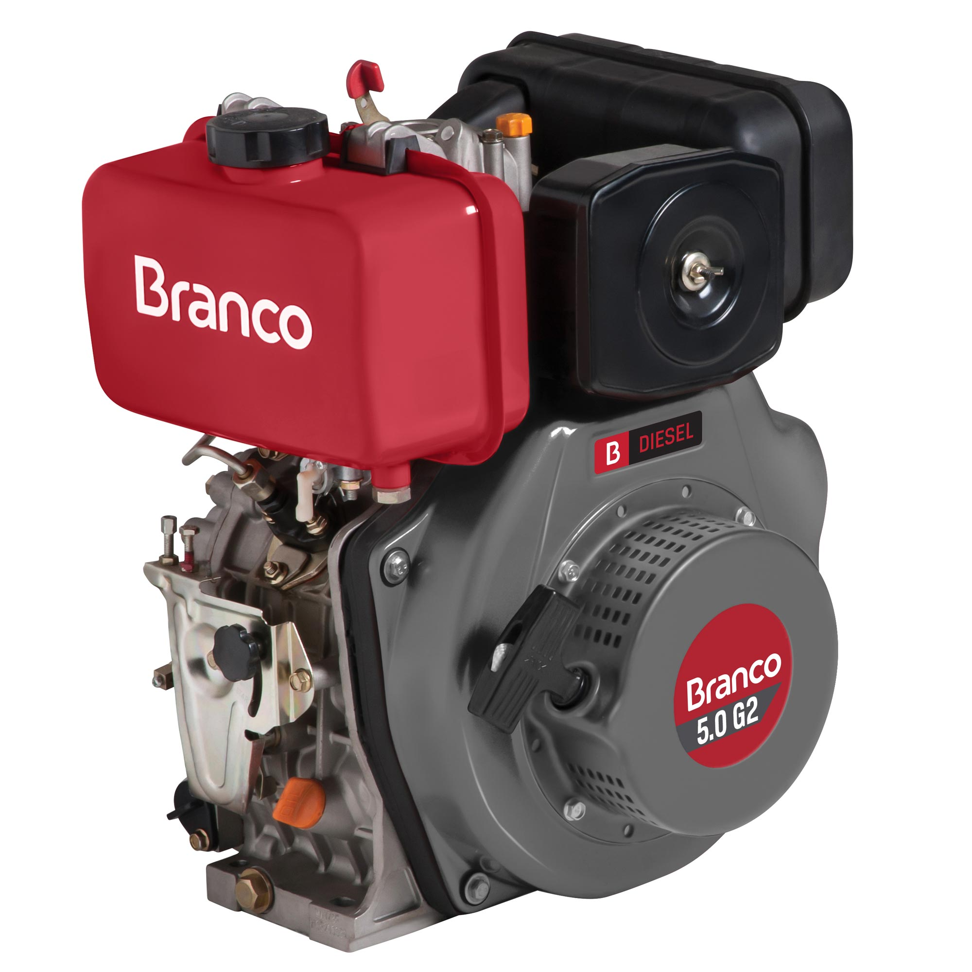Motor Branco 5,0 hp - G2 (Manual)