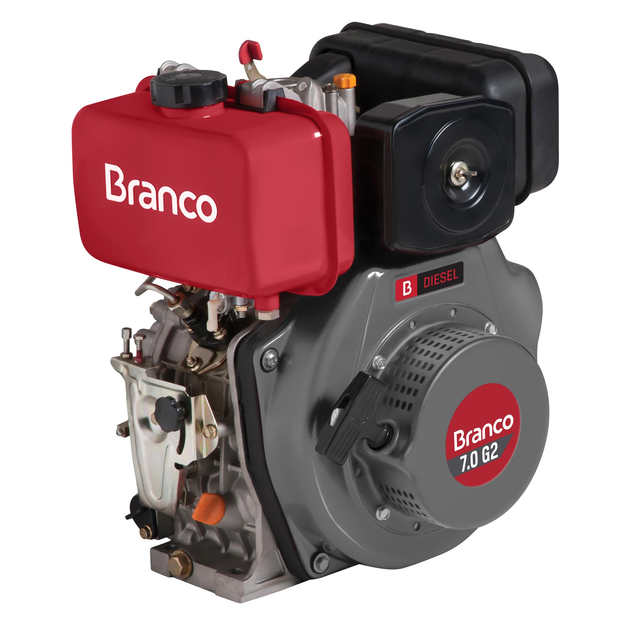 Motor Branco 7,0 hp - G2 (Manual)