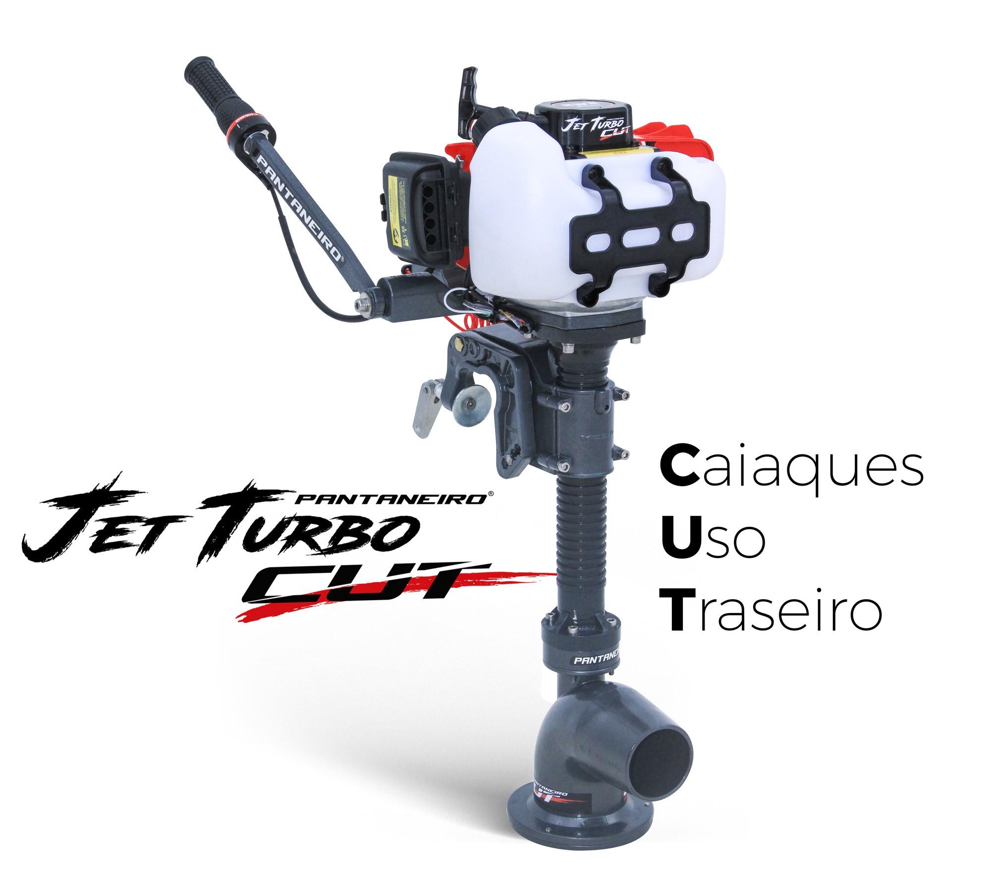 Motor De Popa Jet Turbo Cut Pantaneiro 3.0 Com Embreagem