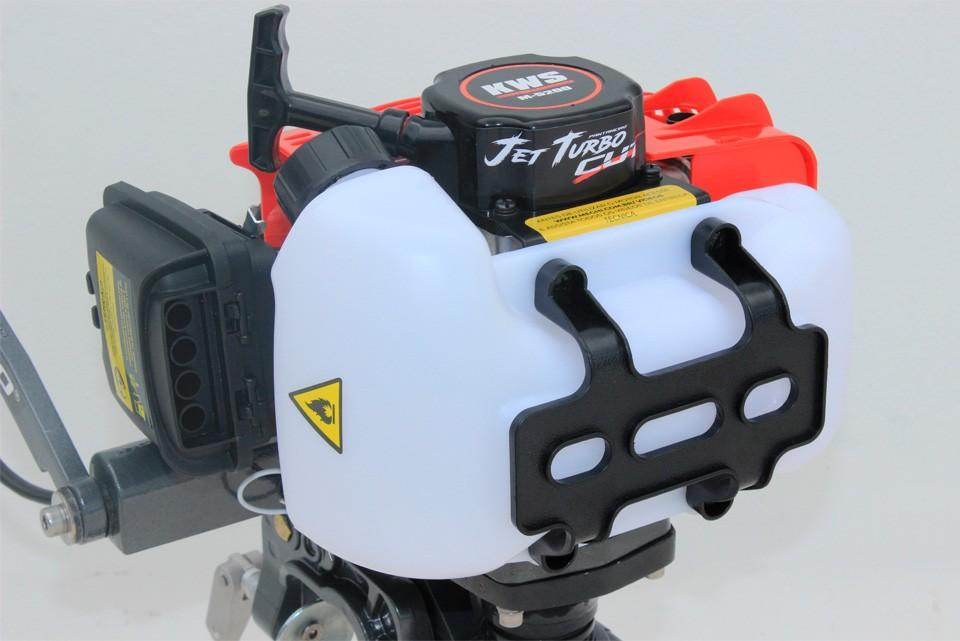 Motor de popa Jet Turbo Pantaneiro 3.0hp 2 tempos com embreagem