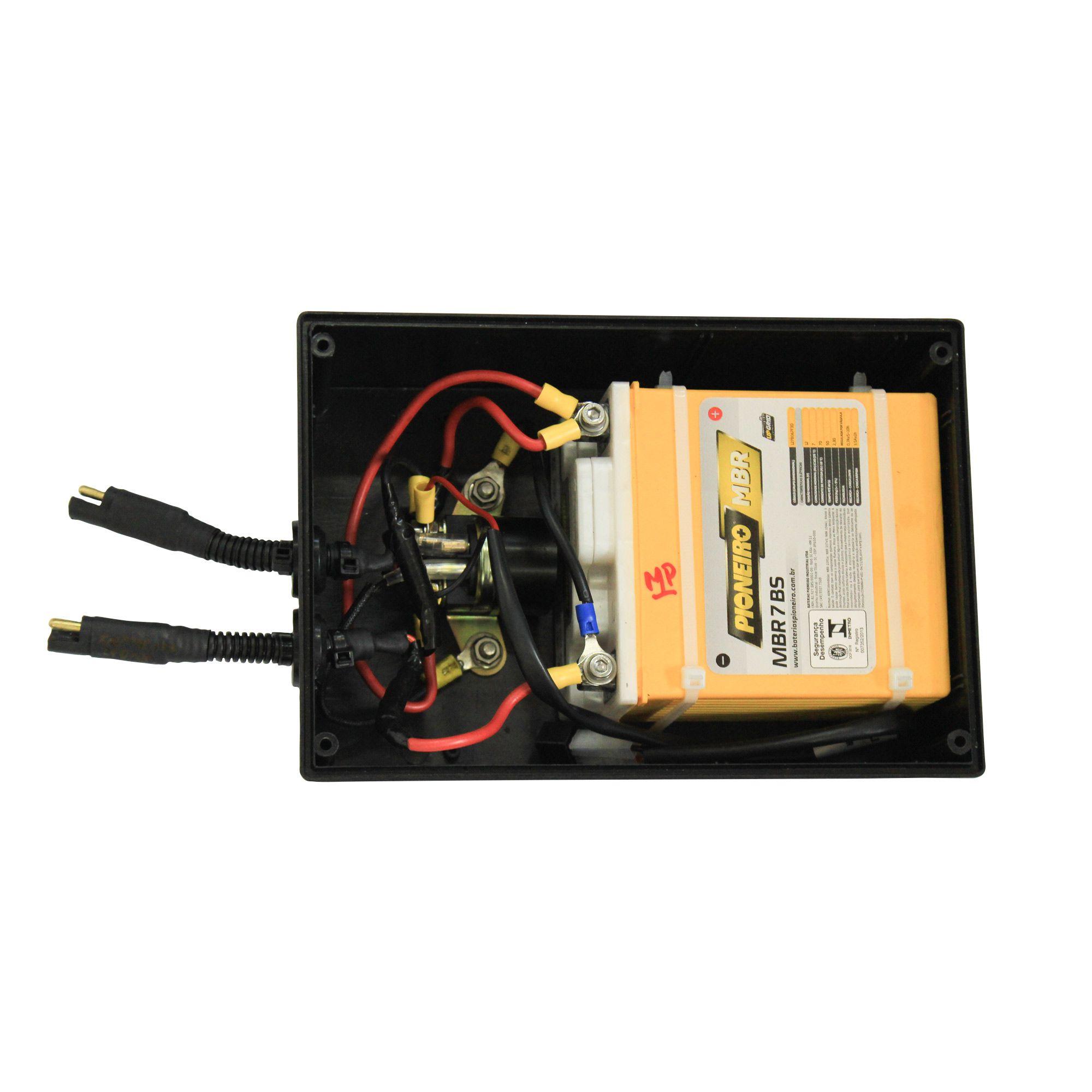 Motor Jet Turbo central com partida elétrica + suporte central