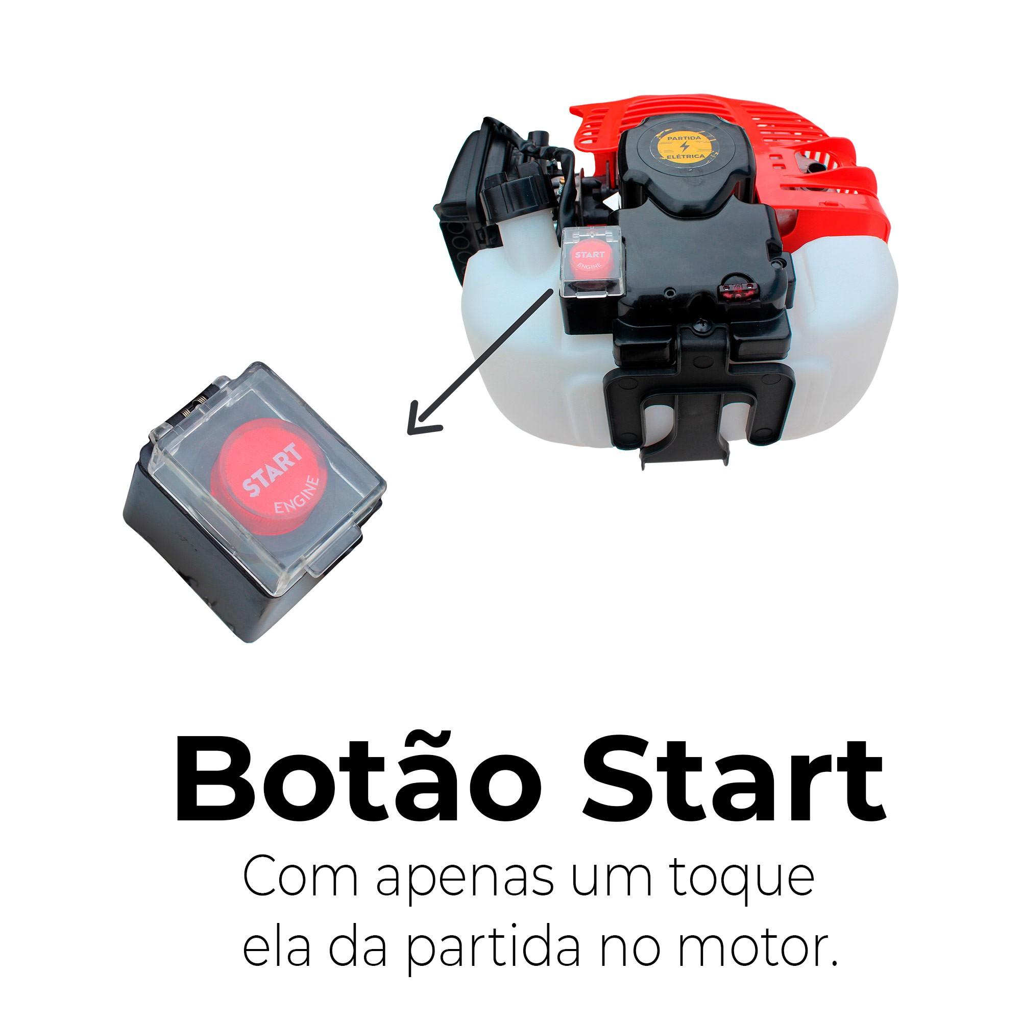 Motor Jet Turbo Cut Com Partida Elétrica Cód. (4751-0101)