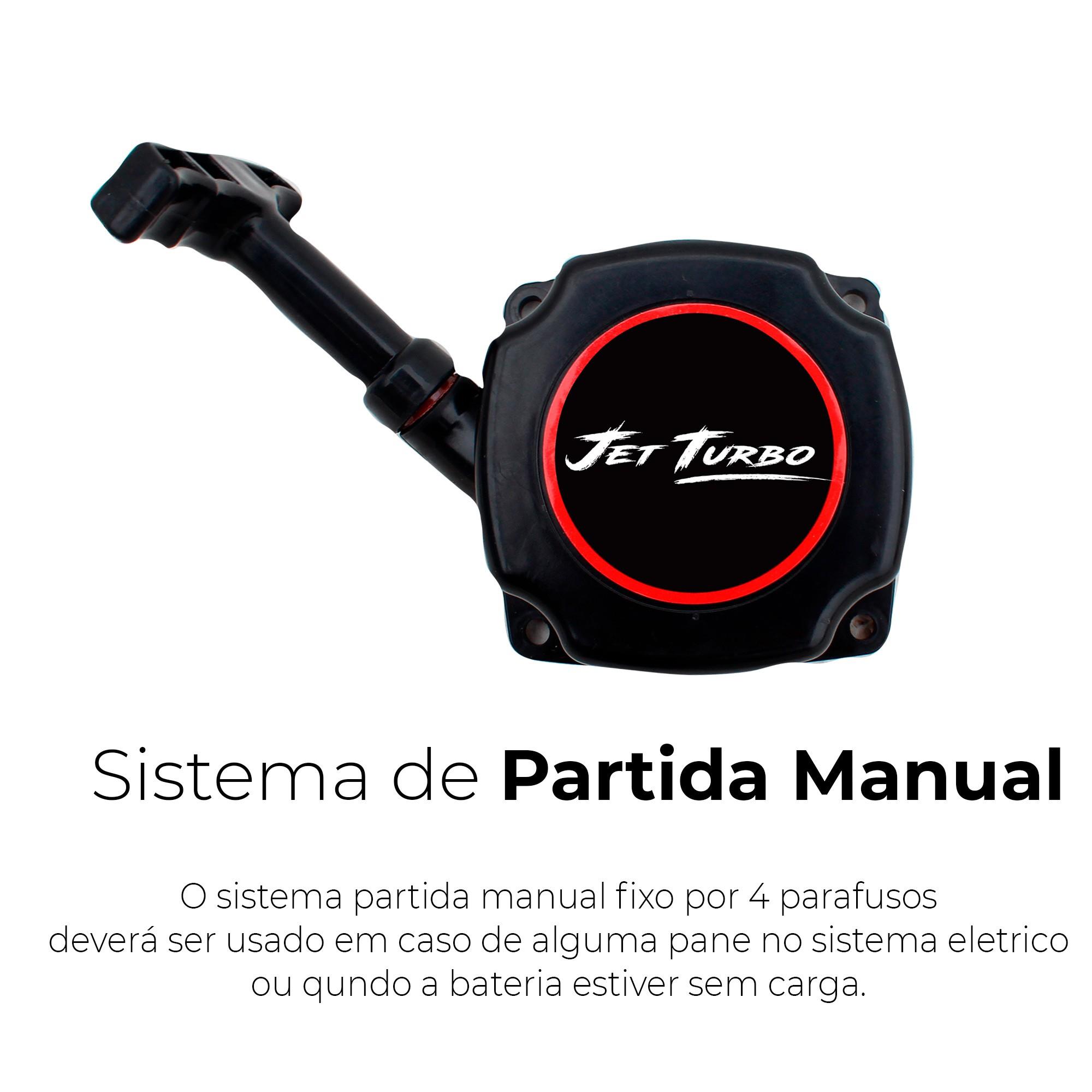 Motor Jet Turbo Partida Elétrica Pantaneiro (cód.4751-0102)